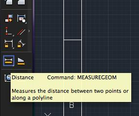 Calculate a distance autocad lt for mac pro